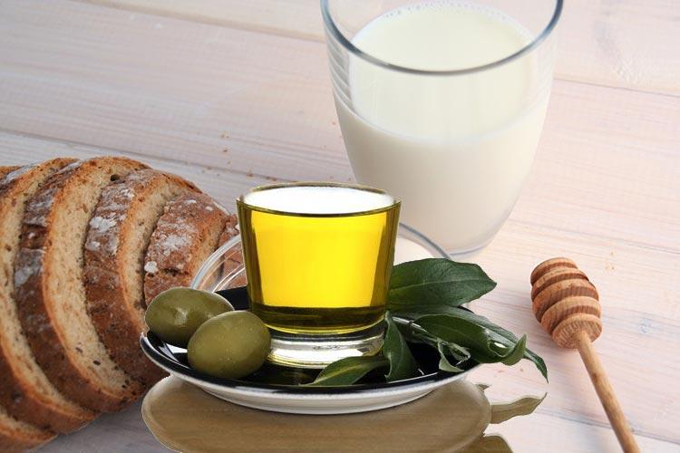 хлебная маска с кефиром и оливковым маслом