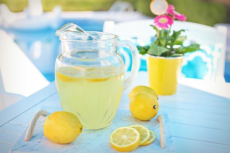 ополаскивание лимонным соком