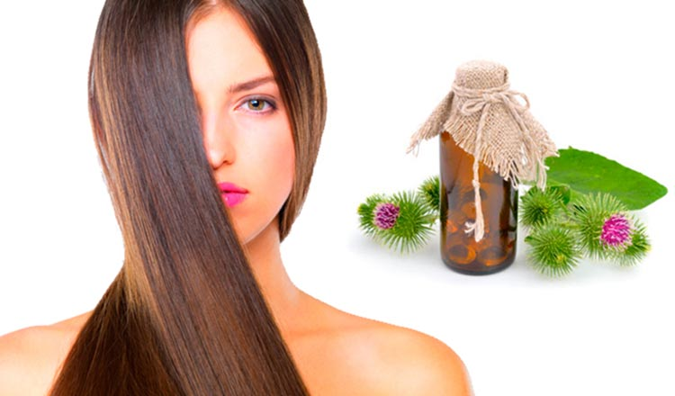 Репейное масло для волос: способы применения, как пользоваться и наносить его на волосы