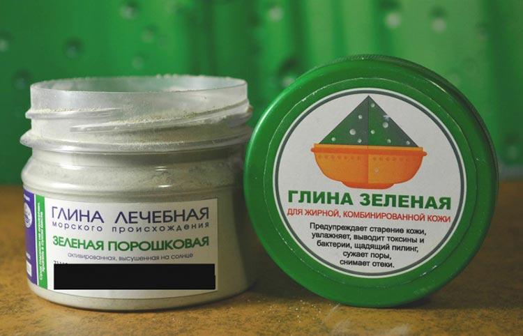 маски для волос из зеленой глины